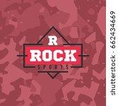 hipster logo template | Shutterstock .eps vector #662434669