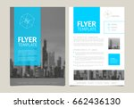 modern business corporate... | Shutterstock .eps vector #662436130