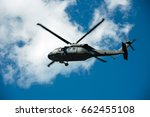 Military Helicopter To The...
