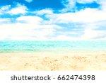 Sand Beach And Blue Sea   ...