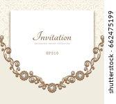 elegant vector background with... | Shutterstock .eps vector #662475199