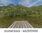 myojin pond at hotaka rear... | Shutterstock . vector #662505400