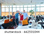 startup business people group... | Shutterstock . vector #662531044