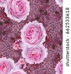 floral seamless pattern. branch ...   Shutterstock . vector #662533618