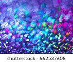 lights on a blue background | Shutterstock . vector #662537608