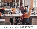 startup business people group... | Shutterstock . vector #662539426