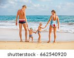 a family is having fun at the... | Shutterstock . vector #662540920
