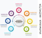 infographic elements vector | Shutterstock .eps vector #662541724