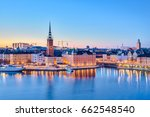Cityscape Of Stockholm City At...