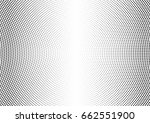 abstract halftone dotted... | Shutterstock .eps vector #662551900
