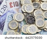 Uk Pound Coins And Notes Used...
