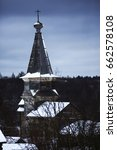 Wooden Churches And Houses In...