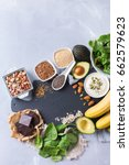 healthy food nutrition dieting... | Shutterstock . vector #662579623