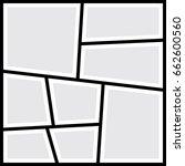 frames photo collage. vector...   Shutterstock .eps vector #662600560