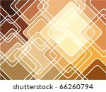 abstract geometric mosaic... | Shutterstock .eps vector #66260794