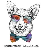 vintage retro hipster style... | Shutterstock .eps vector #662616226