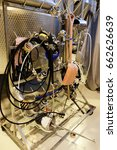 wine industry tools in a modern ... | Shutterstock . vector #662626639
