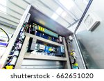 electric control panel... | Shutterstock . vector #662651020