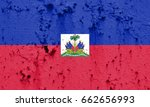 flag of haiti | Shutterstock . vector #662656993