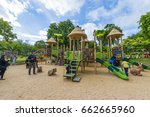 casela adventure park ... | Shutterstock . vector #662665960