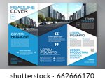 business brochure. flyer design.... | Shutterstock .eps vector #662666170