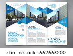 business brochure. flyer design.... | Shutterstock .eps vector #662666200