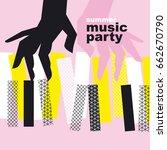 Concept Modern Music Poster...