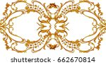decorative abstract composition ... | Shutterstock . vector #662670814