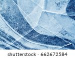 abstract background of ice... | Shutterstock . vector #662672584
