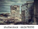 old production halls | Shutterstock . vector #662678350