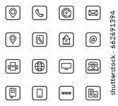 set of business card vector... | Shutterstock .eps vector #662691394