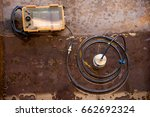ultrasonic test to detect... | Shutterstock . vector #662692324