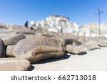 Praying Letter On Rocks In...