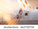 rear view of businessman and... | Shutterstock . vector #662720734