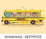 stock vector illustration back... | Shutterstock .eps vector #662749123