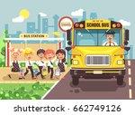 stock vector illustration back... | Shutterstock .eps vector #662749126