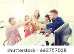 business  startup  architecture ...   Shutterstock . vector #662757028