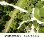 aerial view of sempione park in ... | Shutterstock . vector #662764219