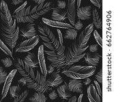 vector seamless pattern.... | Shutterstock .eps vector #662764906