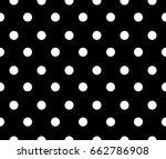 polka dot pattern   Shutterstock .eps vector #662786908