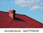 Roof With Chimney  Modern...