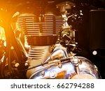 motorcycle engine   Shutterstock . vector #662794288