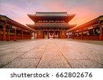 tokyo  japan   sensoji ji...   Shutterstock . vector #662802676