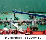 Bunkering Tanker Container Ship ...