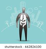 patient organs   Shutterstock .eps vector #662826100