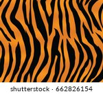 tiger pattern  print  stripes ... | Shutterstock .eps vector #662826154