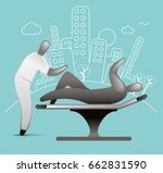 physiotherapy   Shutterstock .eps vector #662831590