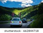 convoy of service team cars... | Shutterstock . vector #662844718