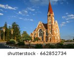 the christ church  or... | Shutterstock . vector #662852734