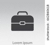 briefcase icon. vector...